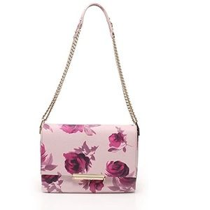Kate Spade Emerson Place Plum Dawn Roses Lenia Bag